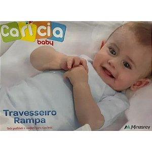 Travesseiro Rampa Carícia Baby 36x36X8 Branco - Minasrey
