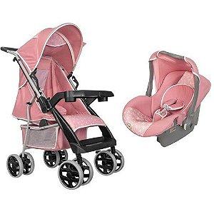 Carrinho de Bebê com Bebê Conforto - Tutti Baby Thor 0 a 15kg