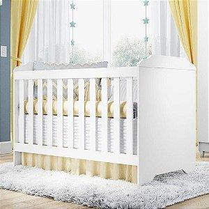 Berço Minicama Americano 3 em 1 Branco - Carolina Baby