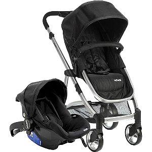 Carrinho de Bebê Travel System Epic Lite Onyx Preto - Infanti