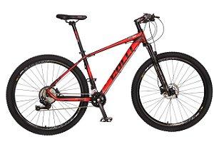 Bicicleta COLLI F11 MTB, Aro 29 Aero, 12 Velocidades, Freios a Disco Hidraúlicos, Suspenção Dianteira c/ Trava no Guidão