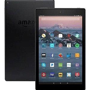 "Tablet Amazon Fire HD10 32GB RAM 3GB Tela 10"" Full HD Preto"