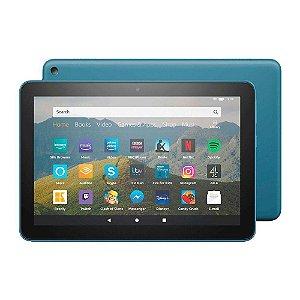 "Tablet Amazon Fire HD10 32GB RAM 3GB Tela 10"" Full HD Azul"