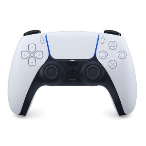Controle sem fio Sony Dualsense PlayStation 5 PS5 Branco
