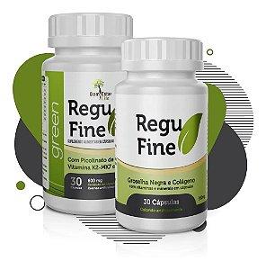 02 (fracos) Emagrecedor Regufine+regufine Green