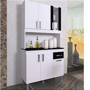 Armário de Cozinha 6 Portas 1 Gaveta Lion Indekes