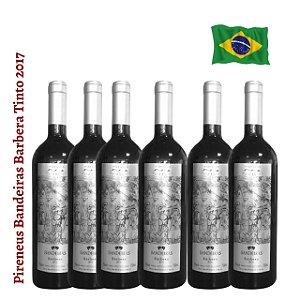Kit 6 vinhos Pireneus Bandeiras Barbera Tinto 2017
