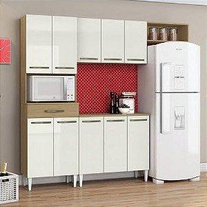 Cozinha Compacta 10 Portas 1 Gaveta Aramóveis Com Balcão