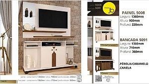 Painel 5008 com Bancada 5091 - JB Móveis