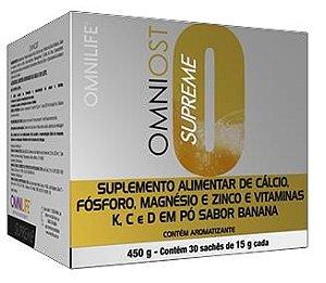OMNIOST SUPREME, CX COM 30 SACHES, 450G - OMNILIFE