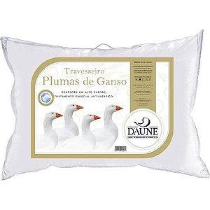 Travesseiro Plumas de Ganso 50x70 Daune