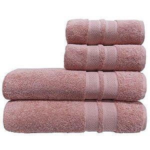 Toalha de Banho Neo Allure Rosa Camesa