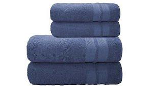Toalha de Banho Neo Allure Azul Camesa