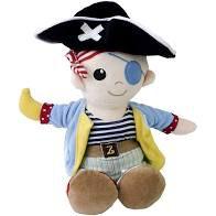 Boneco Pirata Zip