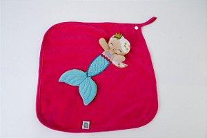 Naninha Blanket Cetim Sereia Zip
