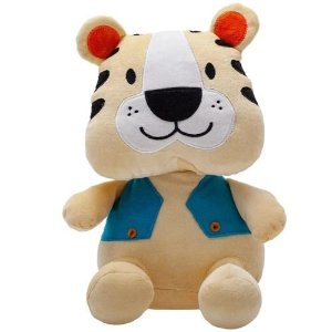 Boneco Safari Tigre Zip