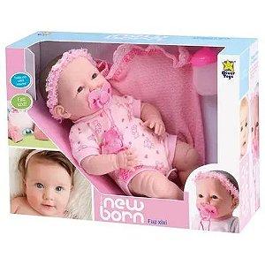 Boneca New Born Faz Xixi Diver Toys