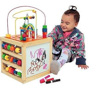 Brinquedo Educativo Aramado Casinha 5 Atividades Carlu