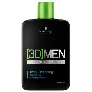 Schwarzkopf 3D Men Deep Cleansing Shampoo Antioleosidade 250ml