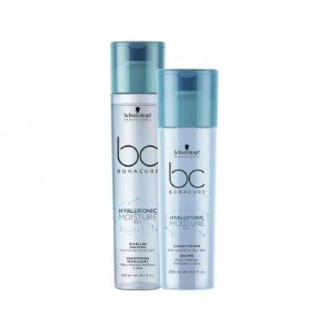 Schwarzkopf Bonacure Hyaluronic Moisture Kick Kit Shampoo250ml+Condicionador 250ml