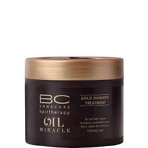 Schwarzkopf Bonacure Oil Miracle Gold Shimmer - Máscara de Tratamento 150ml