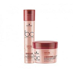 Schwarzkopf  Bonacure Peptide Repair Rescue Deep Nourishing Shampoo+Mascara