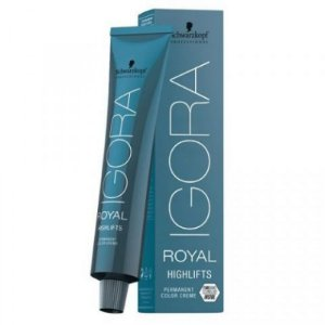 Schwarzkopf Igora Royal Highlifts Coloração Permanente 10-21 Louro Ultra Claro Fumê Cinza 60g