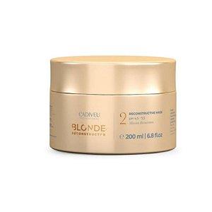 Cadiveu Blonde Reconstructor Acidic Mask Máscara Acidificante 200ml
