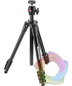 Tripé Manfrotto Compact Light Black Câmera Digital Universal