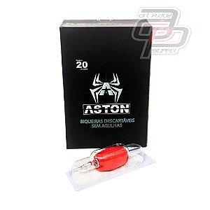 Bico Descartável Aston Traço / Round Liner Grip 30mm  - Caixa com 20 Unidades