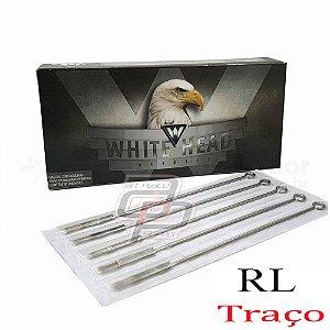 Agulhas White Head  Traço  / Round Liner -  Caixa com 50 Unidades
