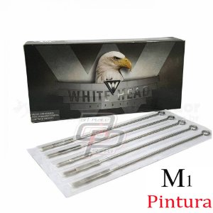 Agulhas White Head  Pintura / Magnun -  Caixa com 50 Unidades