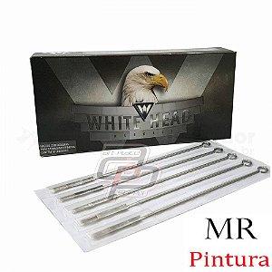 Agulhas White Head Pintura / Magnum Round - Caixa com 50 unidades