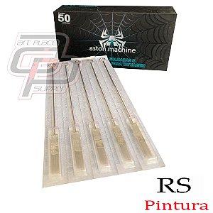 Agulhas Aston Bucha / Round Shader - Caixa com 50 unidades