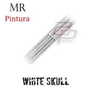 Agulhas White Skull Pintura / Magnum Round - 1 Unidade