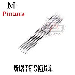 Agulhas White Skull Pintura / Magnum - 1 Unidade