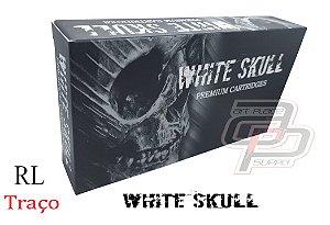 Cartuchos White Skull Traço / Round Liner - Caixa com 20 Unidades