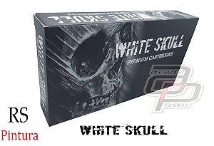 Cartuchos White Skull Bucha / Round Shader - Caixa com 20 Unidades