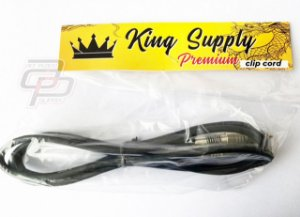 Cabo Clip Cord King Supply Premium - 1 Unidade