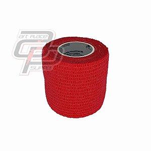 Bandagem Elástica (5cm X 4,5m) - Red