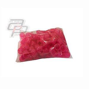 Batoques Rosa saco com 50 Unidades