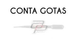 Conta Gotas(pipetas) - 1 Unidade