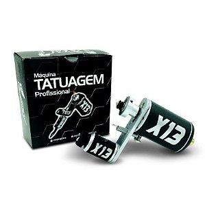 Maquina Tattoo Tatuagem Rotativa X13 Hibrida Traço / Pinura