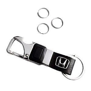 Chaveiro Automotivo Honda Lanterna Led com Abridor de Garrafa