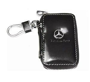 Chaveiro Capa de Chave Mercedes Benz Courvin Preto