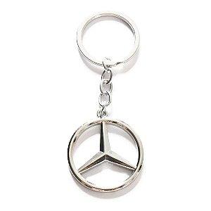 Chaveiro Mercedes Benz Metal Cromado