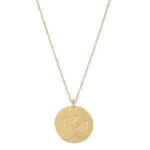 Colar Medalha Om
