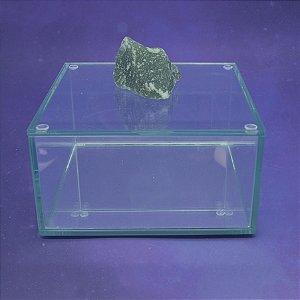 Caixa de Pedra Bruta G Quartzo Verde