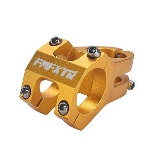 Mesa Avanço Bike FMFXTR 45mm 0° Dourada 31.8mm