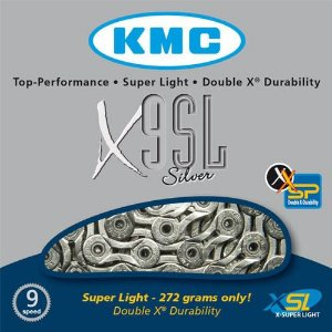 Corrente Kmc X-9SL Silver 9v 116L